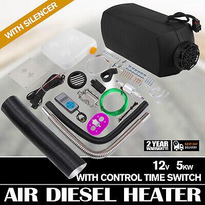 12V 5000W Diesel Air Heater Tank Termostato Riscaldatore Parcheggio 5KW