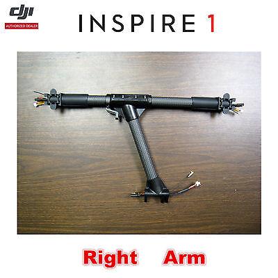 DJI Inspire 1 V2.0 Drone Right Arm Assembly Carbon Fibre Frame Main Frame Boom