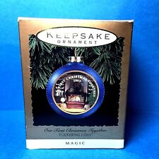 """Hallmark """"Our First Christmas Together"""" Ornament 1993   eBay"""