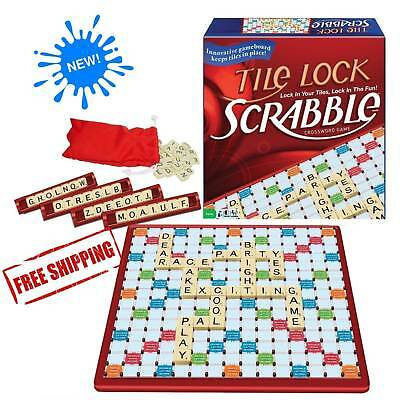 Scrabble Tile Lock Board Games Winning Moves Classic Travel Family Time - Travel Games