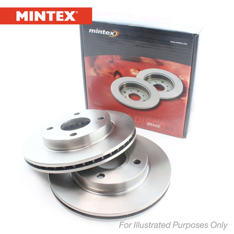 New Lexus IS MK2 220 D Genuine Mintex Front Brake Discs Pair x2