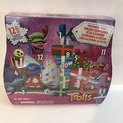 Trolls DreamWorks Holiday Countdown Advent Calendar