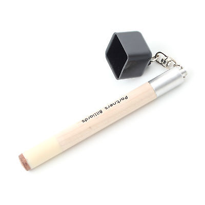 Tip Chalk (2 in 1 Pocket Chalk Holder Prep Stick Billiard Snooker Pool Cue Tip Pricker)