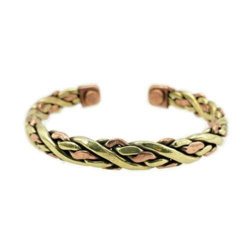 Pure Copper Magnetic Bracelet Arthritis Pain Energy Therapy Cuff New CP-CF565A