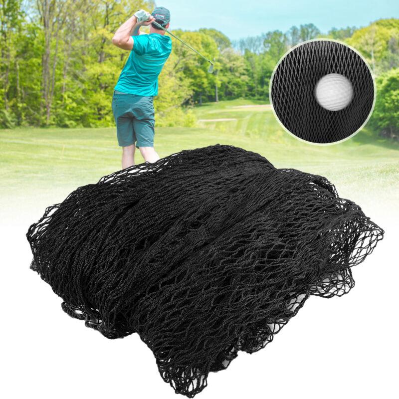 High Impact Golf Barrier Netting 10ft x 10ft Back Yard Sports Golf Practice Net