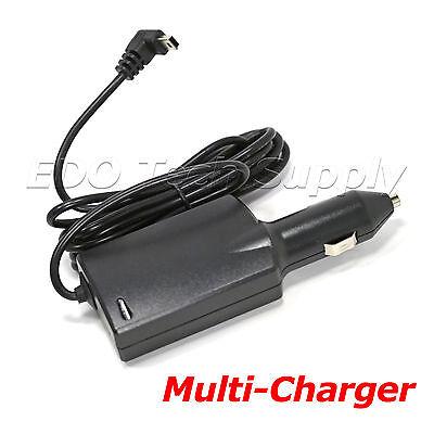 Car Charger Power Cord for GARMIN Nuvi 50lmt 2589lmt DriveSmart 61lmt-s GPS TA20