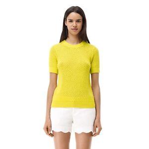 NWT  Club Monaco Rhonda Short Sleeve Sweater