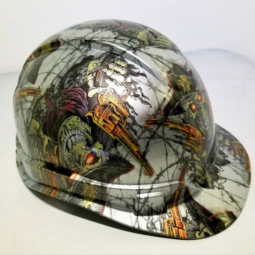 Hard Hat custom hydro dipped , OSHA approved DIRTY DIRTY HARRY OLD WEST NEW 1