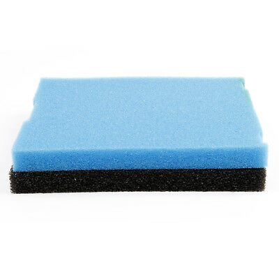 Aquapro REPLACEMENT SPONGE 2Pcs Suit ATF1000 Tray Prefilter BLACK/BLUE*USA Brand