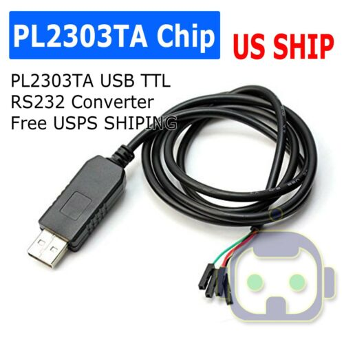 PL2303TA USB to TTL RS232 COM UART Module Serial Cable Adapter for Arduino