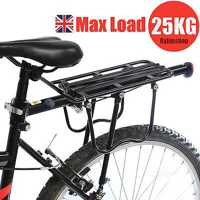 Cycling Bike Mountain Bike Rear Rack Seat Post Mount Pannier Luggage Carrier DE