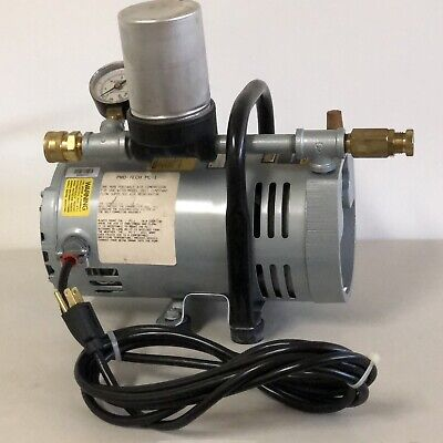 Gast Ambient Air Pump Pro-tech Compressor 13 Hp 115v 1 Ph. Brand New Old Stock