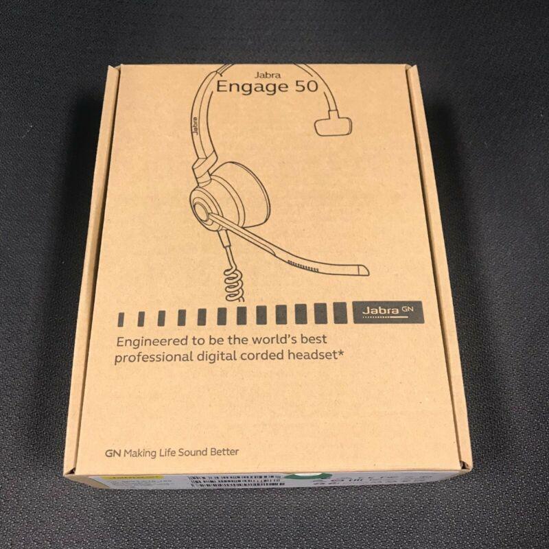 BRAND NEW Jabra Engage 50 Stereo Wired Headset USB-C 5093-610-189 BRAND NEW