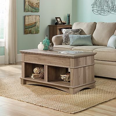 مكتب جديد Lift Top Coffee Table – Salt Oak Finish – Harbor View collection (420329)