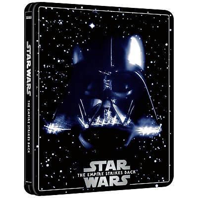 STAR WARS THE EMPIRE STRIKES BACK 4K BLU RAY LTD EDITION STEELBOOK PRE-ORDER