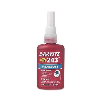 Loctite 1329467 243 Blue Medium Strength Threadlockers 1.69 Oz. 50 Ml 34...