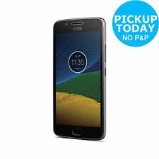 Sim Free Motorola Moto G5 5 Inch 16GB 13MP Mobile Phone - Grey
