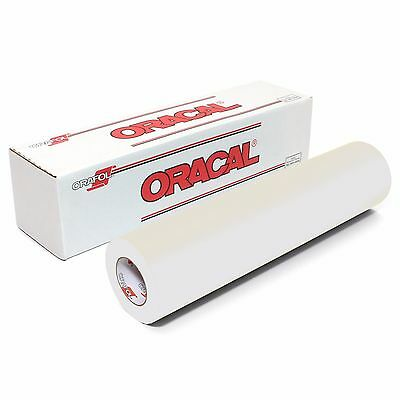 ORACAL 631 Matte Adhesive Vinyl 12inches x 10 feet - WHITE