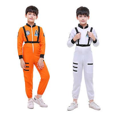 Attractive Toddler Boy Kid Explorer Astronaut Space Suit Child Halloween Costume