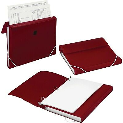 Samsill Duo 2-in-1 Ring Binder And File Organizer 10133