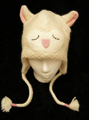 Special Ed deLux Sheep LAMB HAT knit animal ski cap costume ADULT lambchop LINED - Lamb Chop Costume