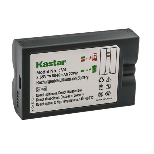 Kastar Rechargeable Cam V4 Battery for OEM Ring 8AB1S7-0EN0 Video Doorbell 2 3