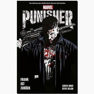 Punisher FRANK IST ZURÜCK Netflix Cover Garth Ennis Steve Dillon PANINI MARVEL