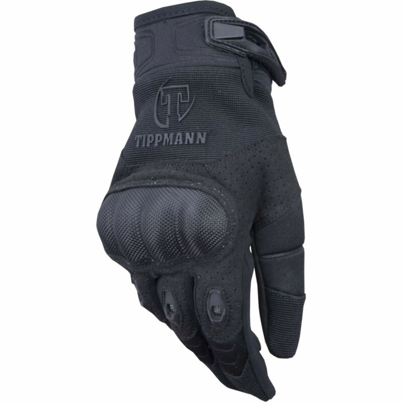 Tippmann Attack Tactical Gloves Black - Small - Paintball