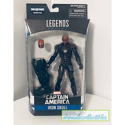 "Marvel Legends Captain America Civil War IRON SKULL 6"" Figure Brand New HTF"