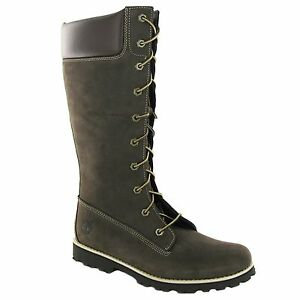 Creative Timberland Nellie Womens Pull On Boots Brown Leather 8247A D23  EBay