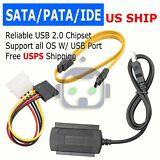 SATA/PATA/IDE 2.5 3.0 to USB 2.0 Cable Serial ATA Adapter For HDD/SSD Hard Drive