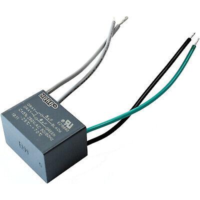 HQRP Capacitor fits Hampton Bay Ceiling Fan CBB61 5uf+6uf 4-Wire