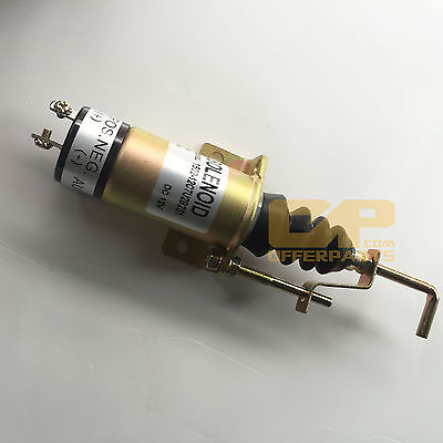 Shut Off Solenoid Valve Stop Solenoid 1502-12c7u2b2s1 For Lister Petter Engine