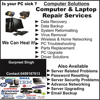 ALL COMPUTER PROBLEMS SOLVED Queanbeyan Queanbeyan Area Preview