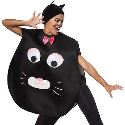 Mieze Katzenkostüm Riesenaugen Poncho Fasching Karneval (Riese Tier Kostüme)