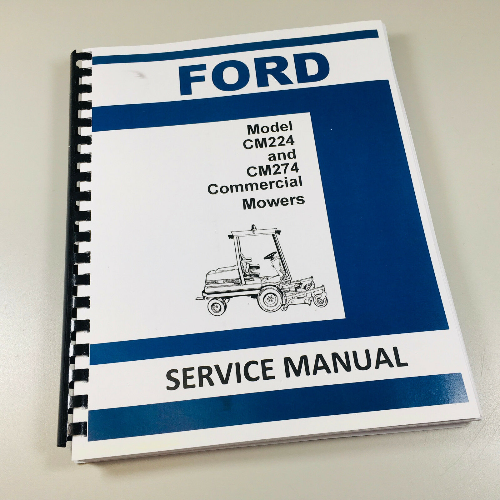 Details about FORD NEW HOLLAND CM224 CM274 COMMERCIAL MOWER SERVICE on