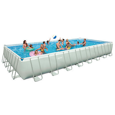 "Intex 16' x 32' x 52"" Ultra Frame Above Ground Swimming Pool - 26371EH"
