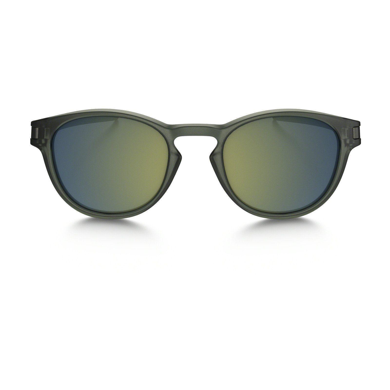0731737bd1 Oakley Sunglasses Latch Matte Olive Ink Emerald Iridium Oo9265-05 ...