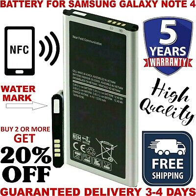 Samsung Galaxy Note 4 Battery samsung Note4 OEM Genuine Original SM-N910 3220mAh