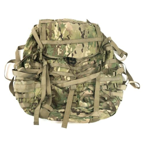 USGI Large Combat Rucksack Bag, US Army MOLLE Ruck Backpack, Multicam, NO FRAME