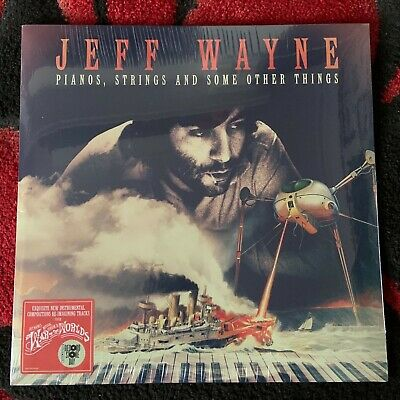 JEFF WAYNE LP Pianos, Strings And Some Other Things Vinyl RECORD STORE DAY 2019