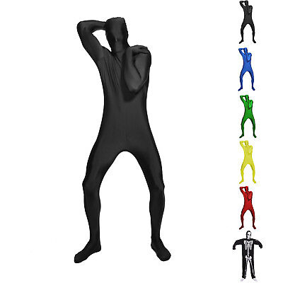 Fun M-Suit Halloween Bodysuit Second Skin Fancy Dress Costume - Second Skin Suit Halloween