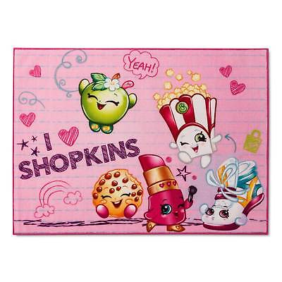 "Shopkins® Pink Accent Rug (3'4""x4'6"")"