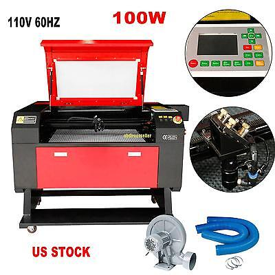 100w Usb Co2 Laser Engraving Cutting Machine Cutter Engraver 700x500mm Ce