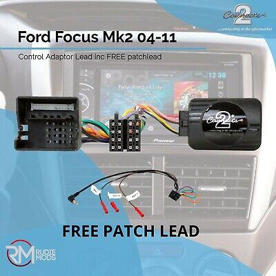 Galaxy Pioneer Stereo Steering Stalk Control Adaptor CTSFO001 FORD Focus