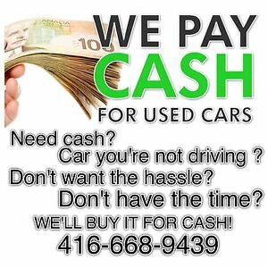 Cash For Cars!