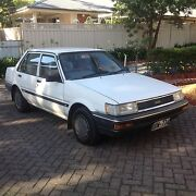 1987 Toyota Corolla Sedan Blackwood Mitcham Area Preview