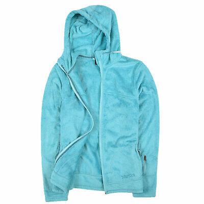 Marmot Damen Pullover Sweater Strick Gr.M (DE 38) Fleecejacke Blau 88436