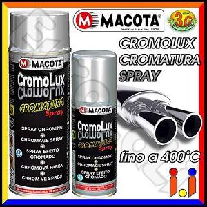 MACOTA-CROMOLUX-Vernice-Cromata-Spray-Cromatura-Resitente-al-Calore-Cromo