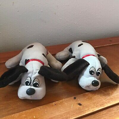 Gently Used Lot of Tonka Plush ray with Brown Spots Pound Puppies Dog Stuffed An